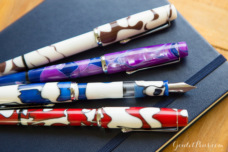 Noodler's Konrad Acrylic Flex Fountain Pen - Tinian Treasure