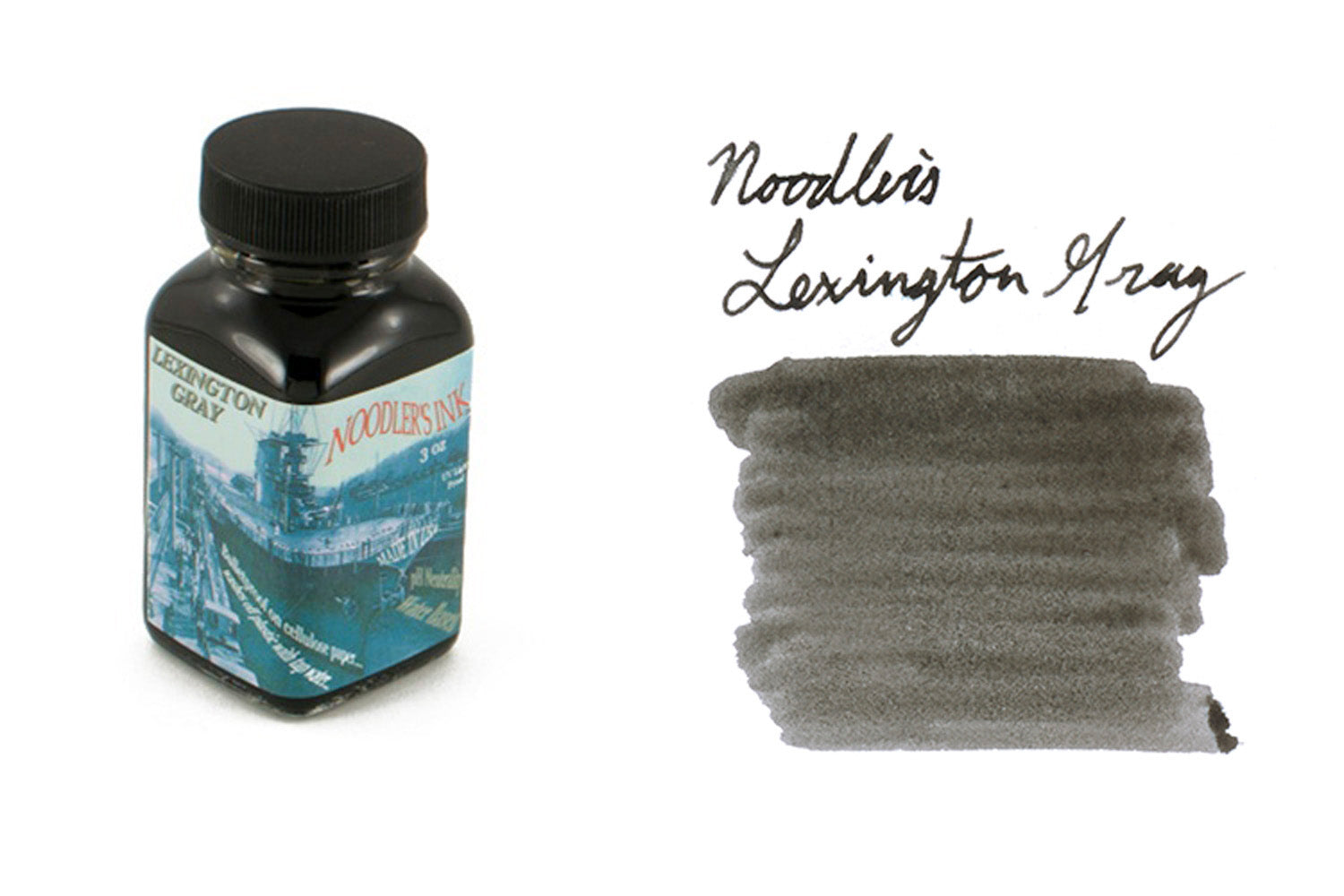 Noodler's Lexington Gray - 3oz Bottled Ink