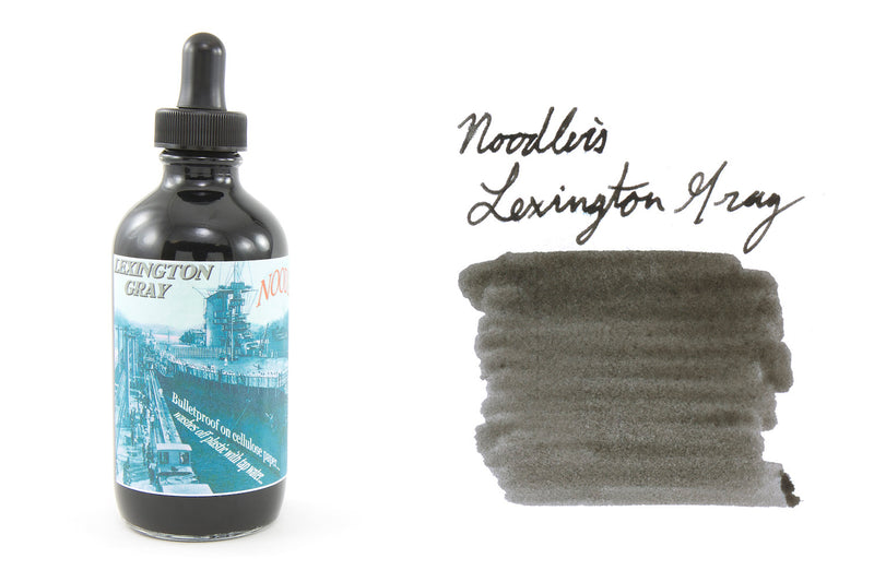 Noodler's Lexington Gray - 4.5oz Bottled Ink with Free Charlie Pen