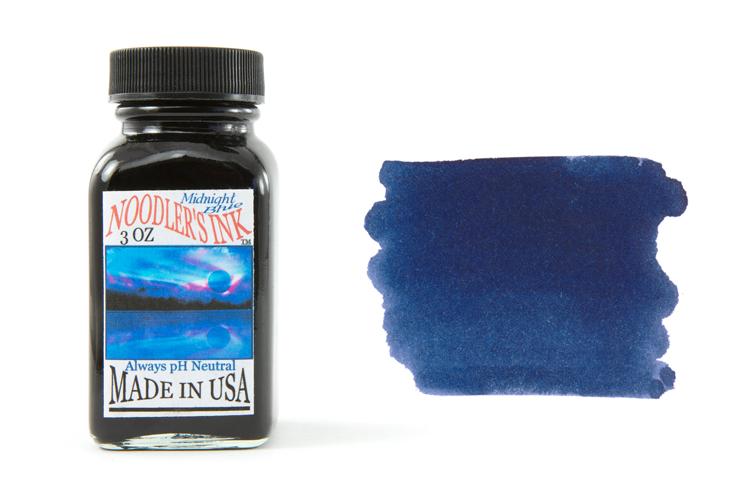 Noodler's Midnight Blue - 3oz Bottled Ink