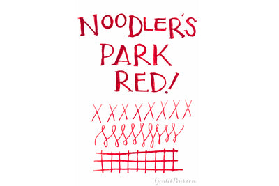 Noodler's Park Red - 3oz Bottled Ink