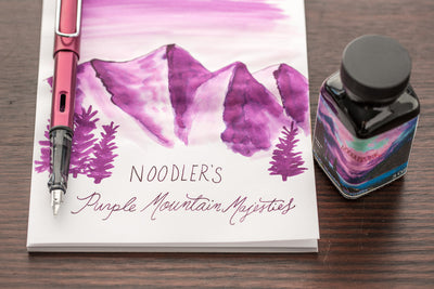Noodler's Purple Mountain Majesties - Ink Sample
