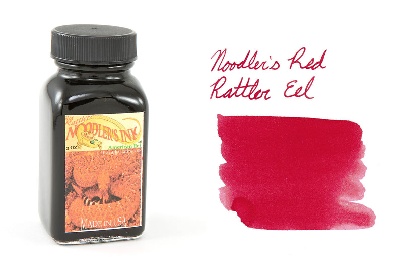 Noodler's Rattler Red Eel - 3oz Bottled Ink