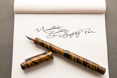 Noodler's Boston Safety Pen - Chestnut