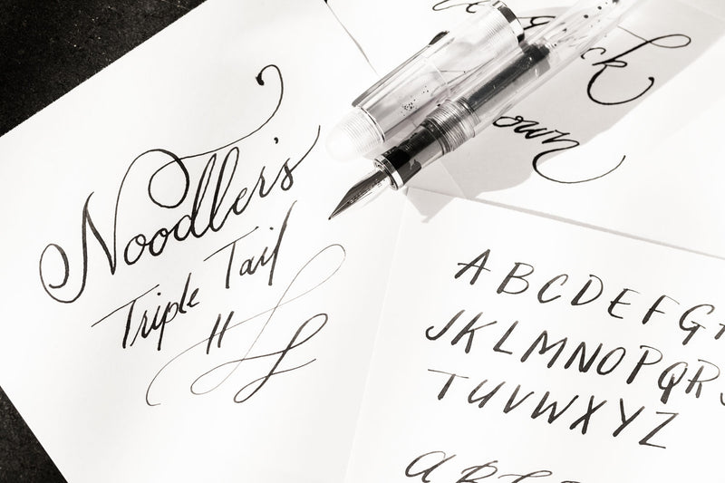Noodler's Triple Tail Flex Fountain Pen - Clear