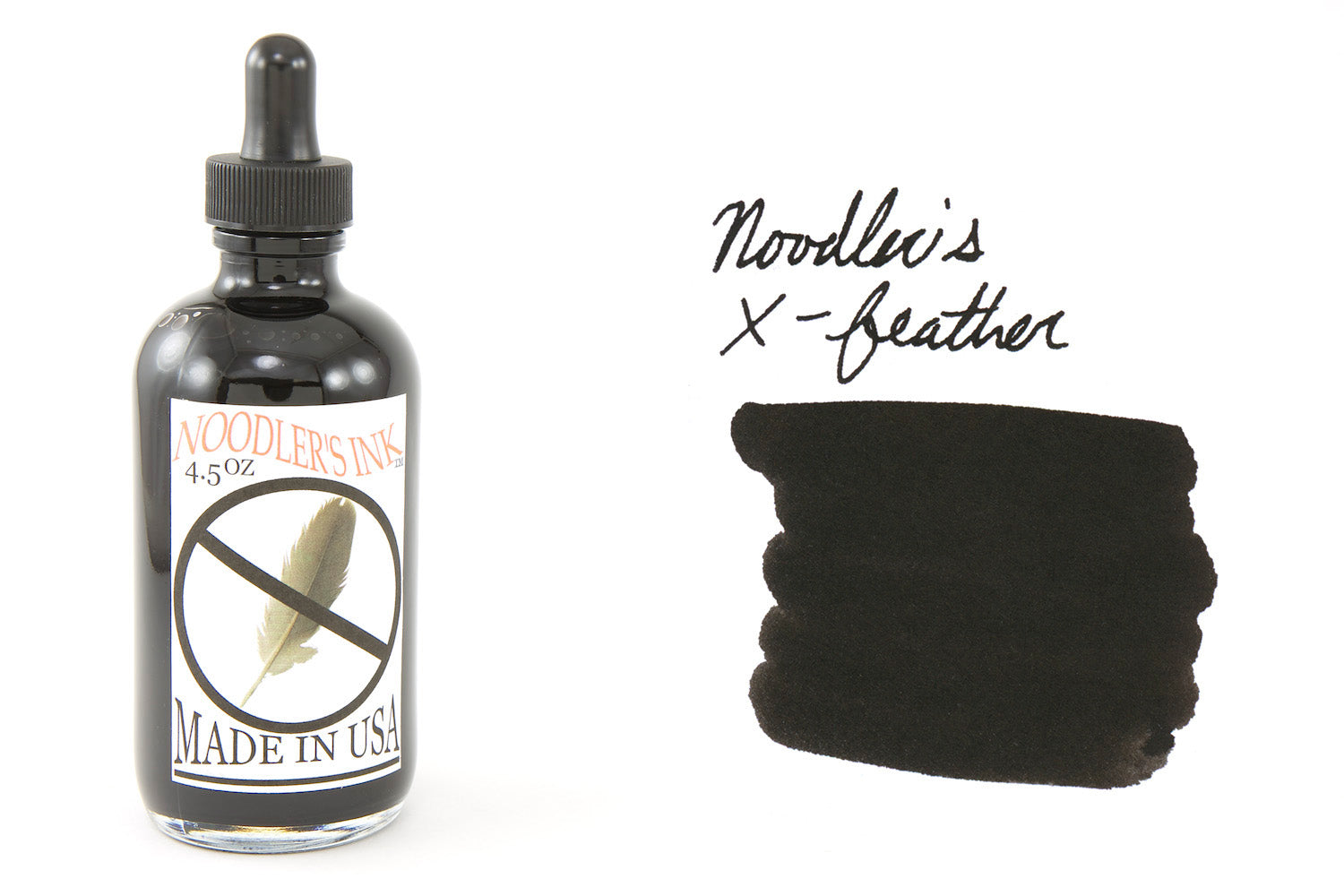 Noodler's X-Feather - 4.5oz Bottled Ink with Free Charlie Pen
