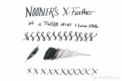 Noodler's X-Feather - 4.5oz Bottled Ink with Free Pen