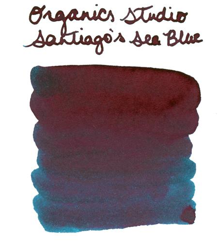 Organics Studio Santiago's Sea Blue - 55ml Bottled Ink