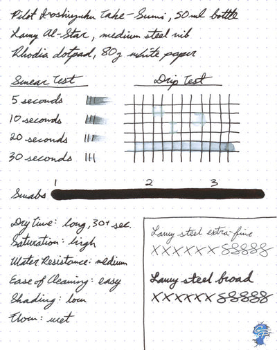 Pilot Iroshizuku Take-sumi - 50ml Bottled Ink