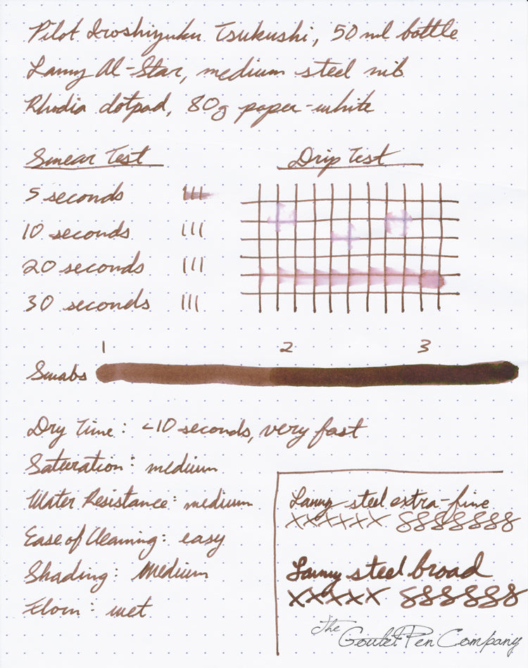 Pilot Iroshizuku Tsukushi - 50ml Bottled Ink