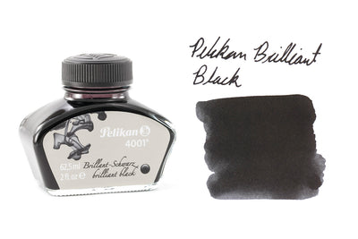 Pelikan Brilliant Black 4001 - 2oz Bottled Ink