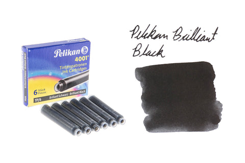 Pelikan Brilliant Black TP6 - Ink Cartridges