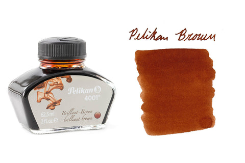 Pelikan Brilliant Brown 4001 - 2oz Bottled Ink