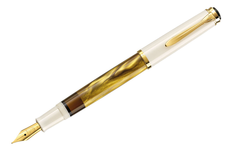 Pelikan M200 Fountain Pen - Gold-Marbled (Special Edition)