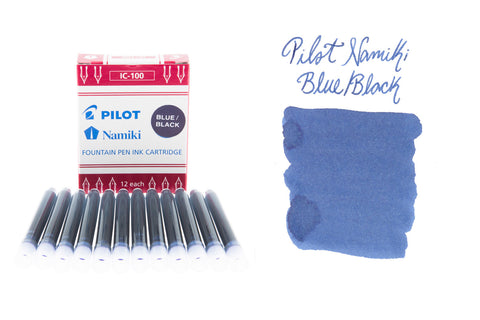 Pilot Namiki Blue/Black - Ink Cartridges