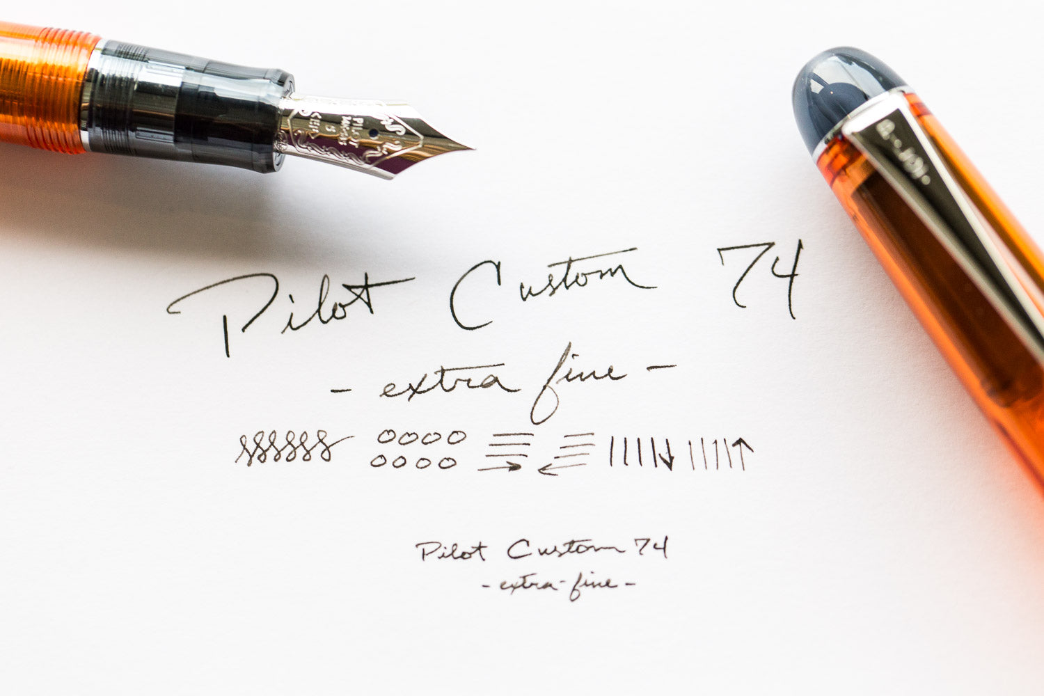 Pilot Custom 74 Fountain Pen - Violet