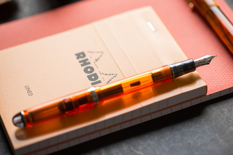 Pilot Custom 74 Fountain Pen - Orange