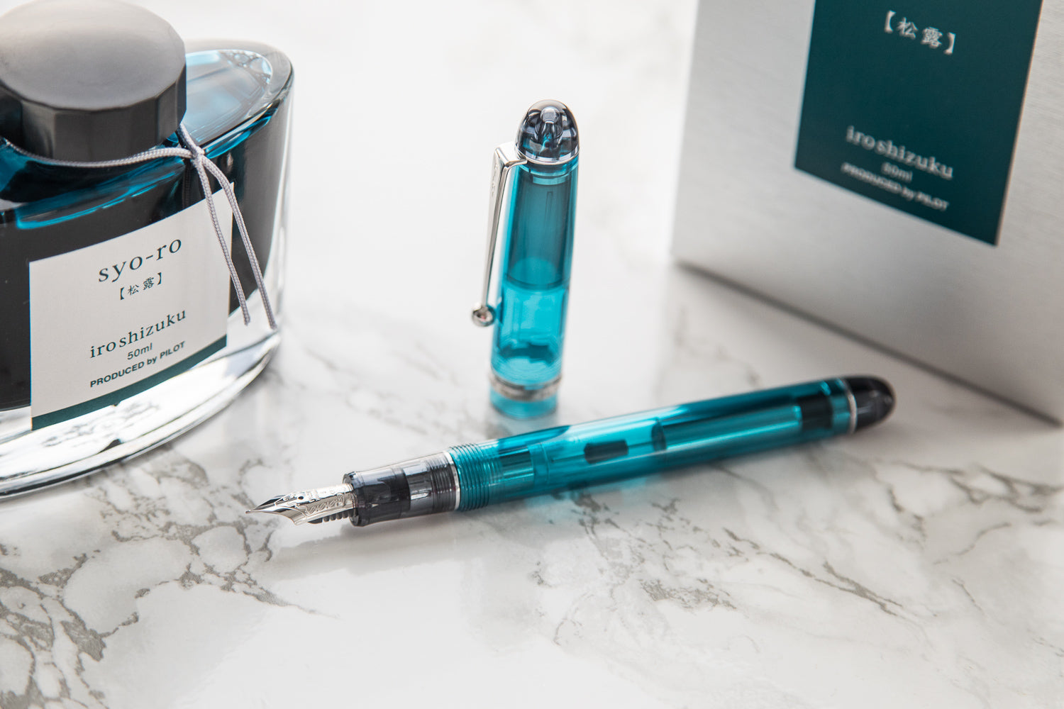 Pilot Custom 74 Fountain Pen - Teal