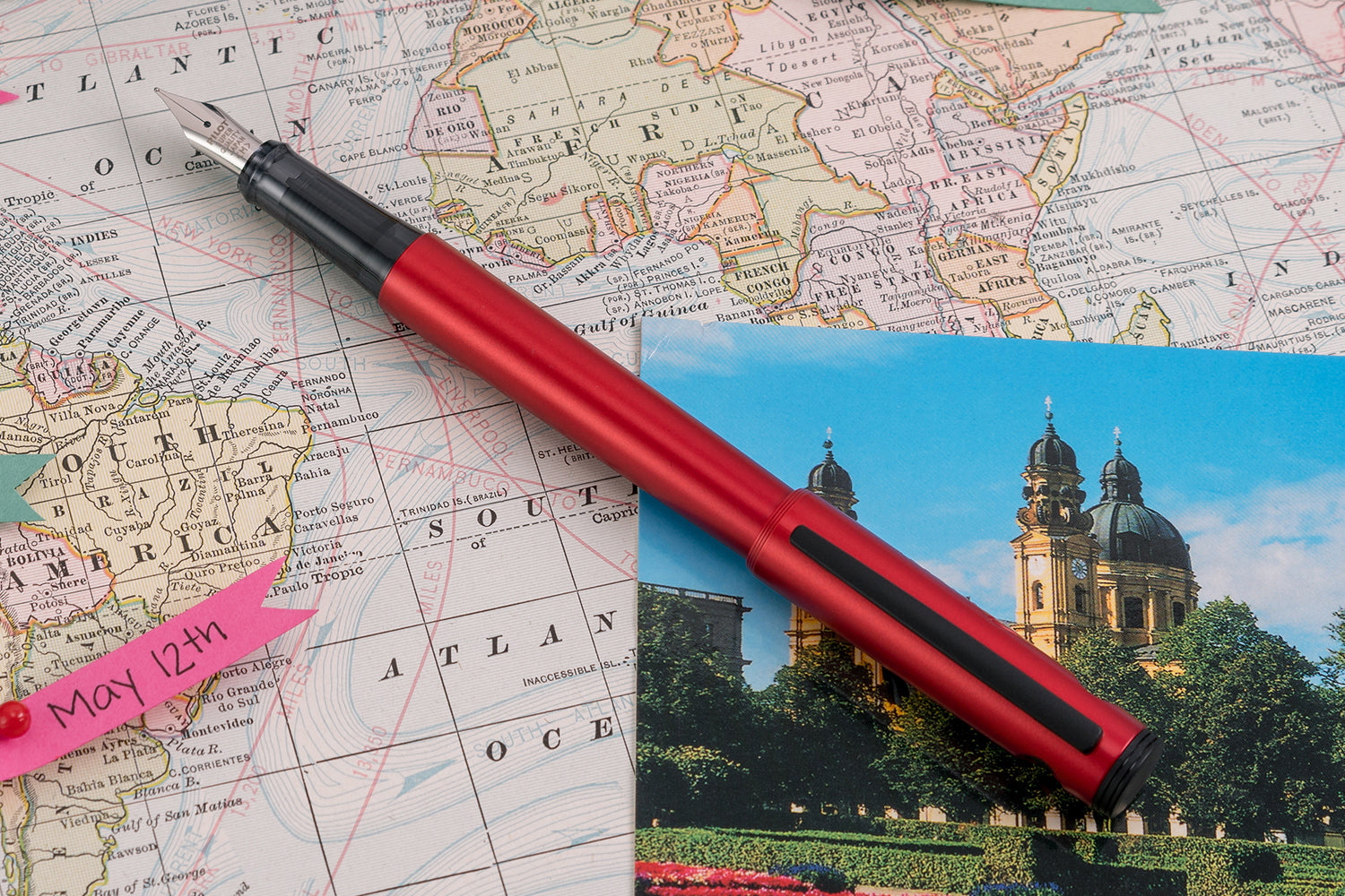 Pilot Explorer Fountain Pen - Red