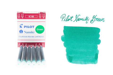 Pilot Namiki Green - Ink Cartridges