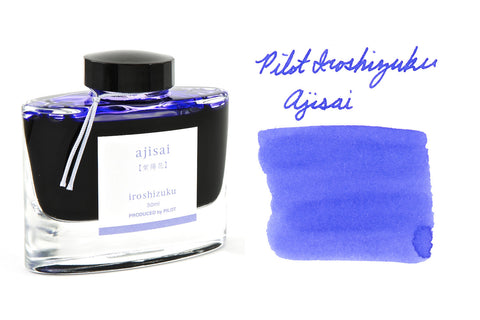 Pilot Iroshizuku Ajisai - 50ml Bottled Ink