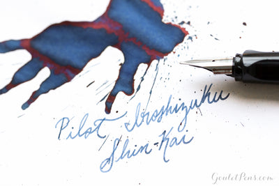 Pilot Iroshizuku Shin-kai - Ink Sample