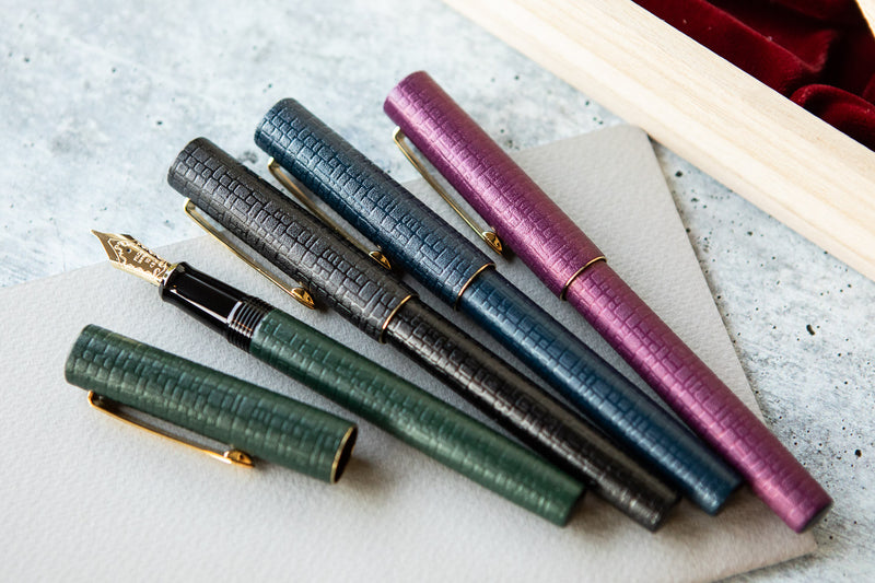 Pilot Ishime Fountain Pen - Hunter Green