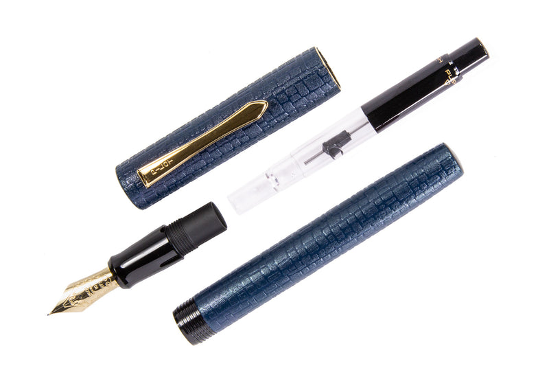 Pilot Ishime Fountain Pen - Navy