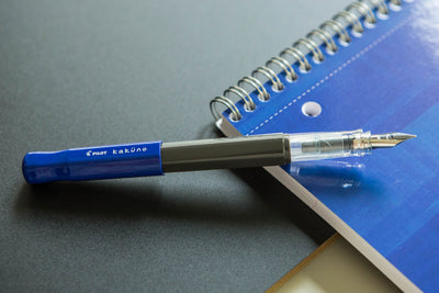Pilot Kakuno Fountain Pen - Blue/Gray
