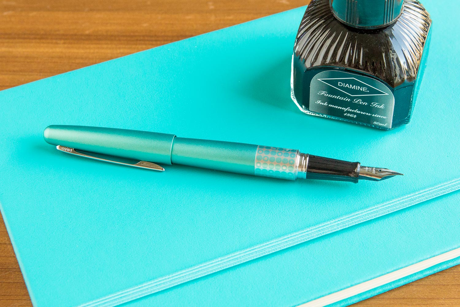 Pilot Metropolitan Fountain Pen - Retro Pop Turquoise – The