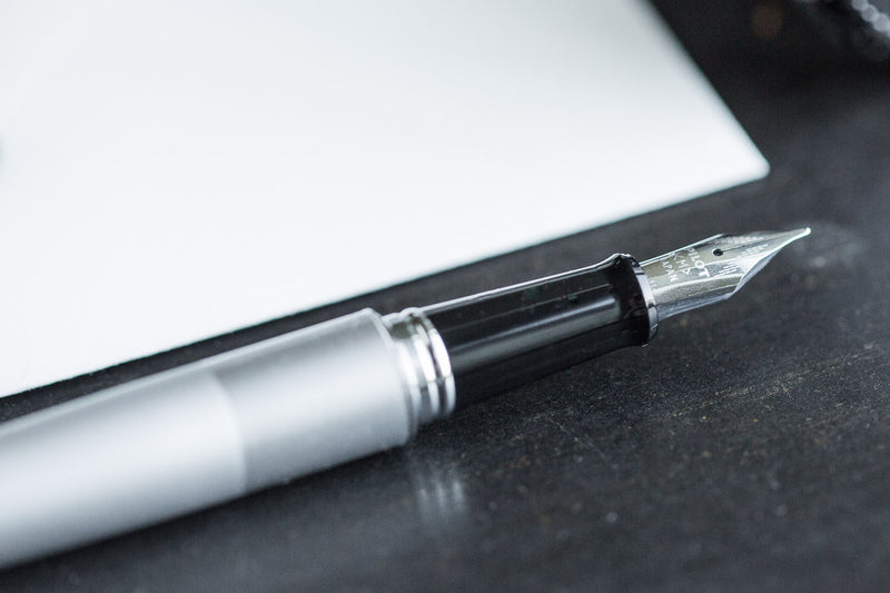 Pilot Metropolitan Fountain Pen - Silver Plain