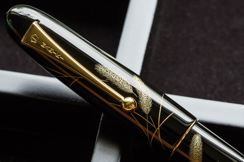Namiki Chinkin Fountain Pen - Cat