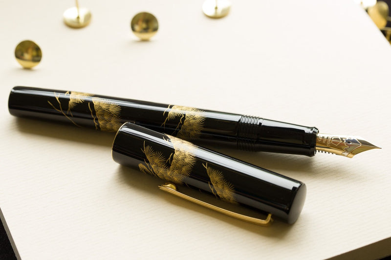 Namiki Chinkin Fountain Pen - Pine Tree