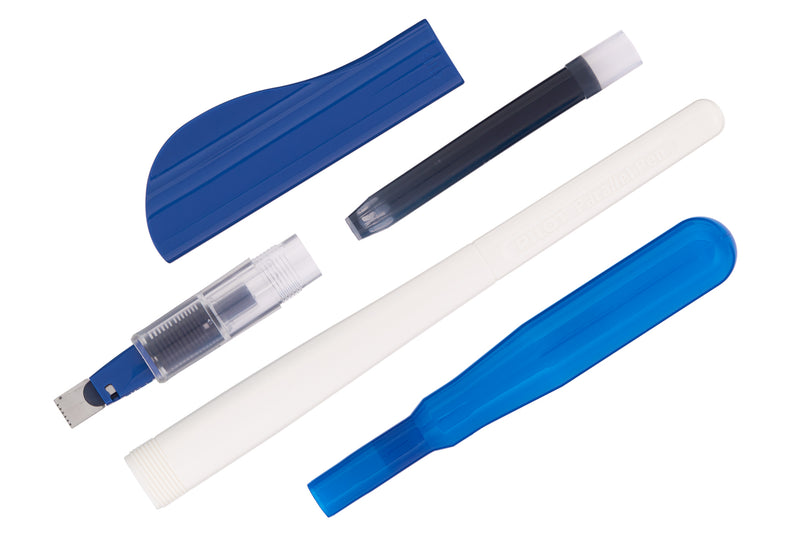 Pilot Parallel Fountain Pen - Blue, 6.0mm