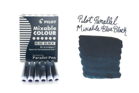 Pilot Parallel Mixable Colour Blue-Black - Ink Cartridges
