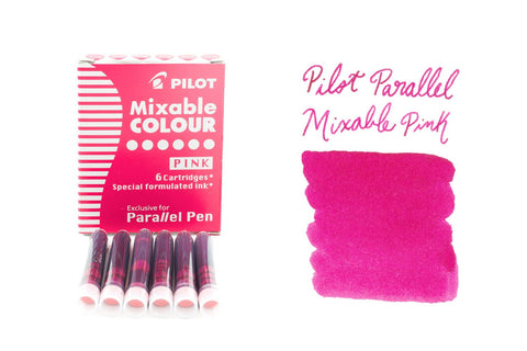 Pilot Parallel Mixable Colour Pink - Ink Cartridges