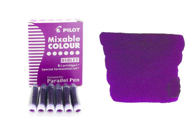 Pilot Parallel Mixable Colour Violet - Ink Cartridges