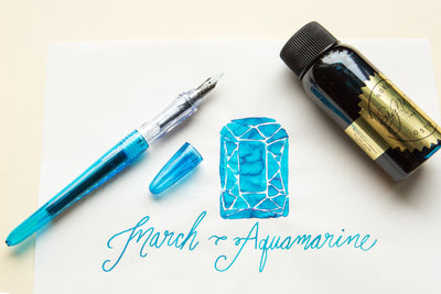 Pilot Plumix Fountain Pen - Light Blue, 1.0mm Stub