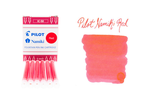 Pilot Namiki Red - Ink Cartridges