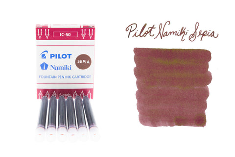 Pilot Namiki Sepia - Ink Cartridges