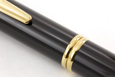 Pilot Vanishing Point Fountain Pen - Black/Gold