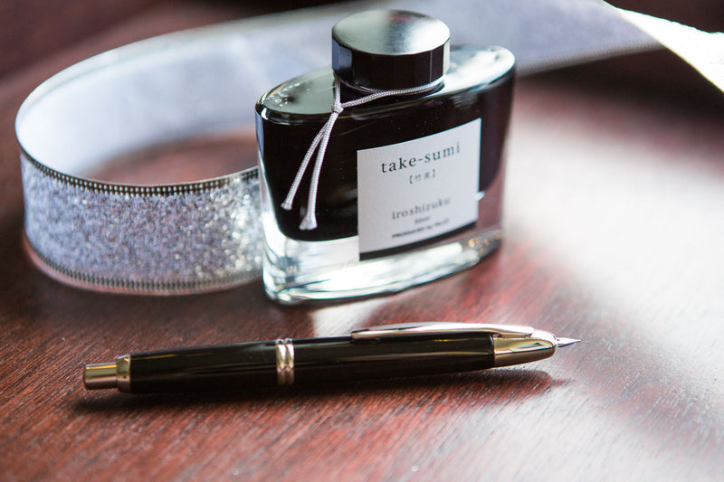 Pilot Vanishing Point Fountain Pen - Black/Rhodium