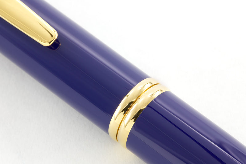 Pilot Vanishing Point Fountain Pen - Blue/Gold