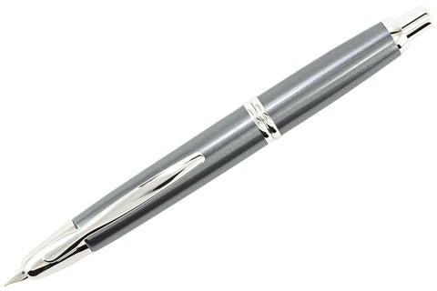 Pilot Vanishing Point Fountain Pen - Gun Metal/Rhodium