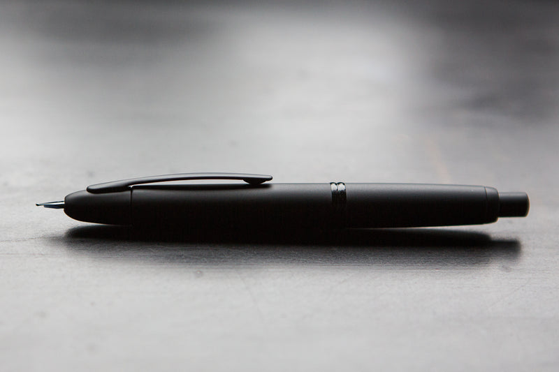 Pilot Vanishing Point Fountain Pen - Black Matte