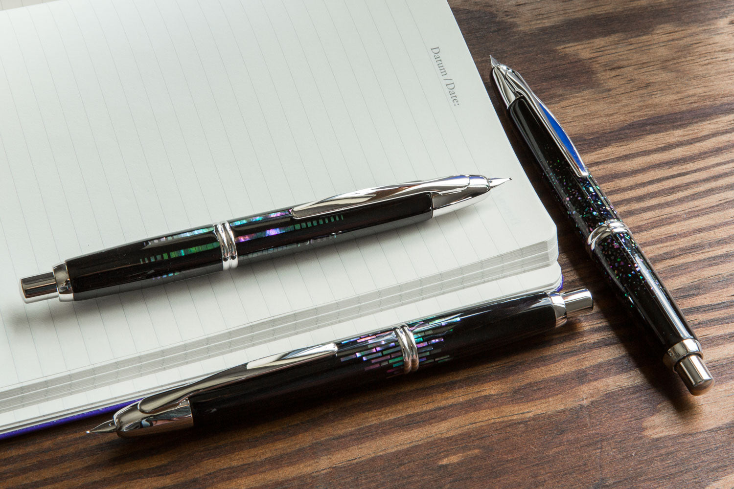 Pilot Vanishing Point Fountain Pen - Raden Stripe