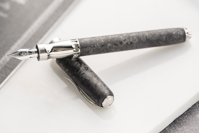 Pineider La Grande Bellezza Fountain Pen - Forged Carbon (Limited Edition)