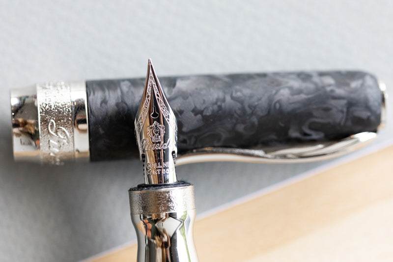 Pineider Mystery Filler Fountain Pen - Forged Carbon (Limited Edition)