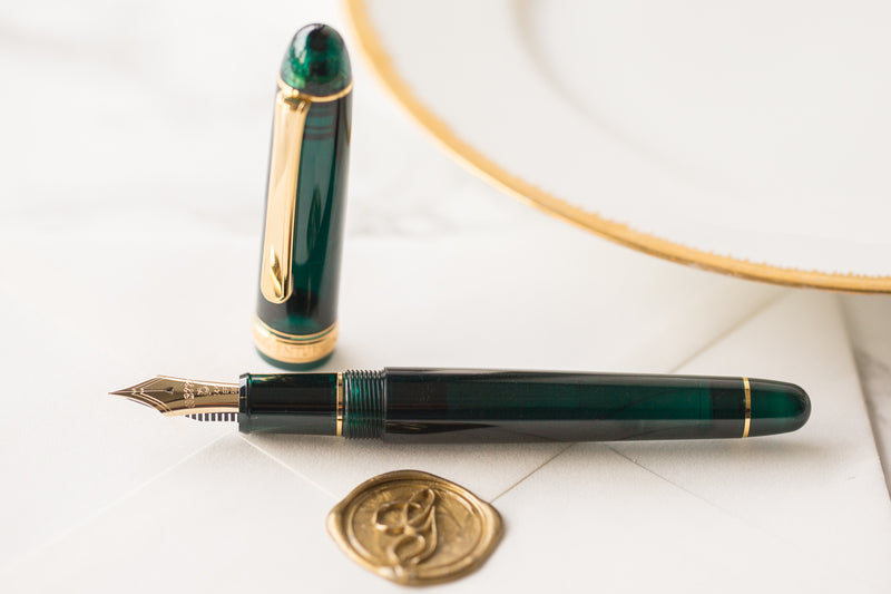 Platinum 3776 Century Fountain Pen - Laurel Green