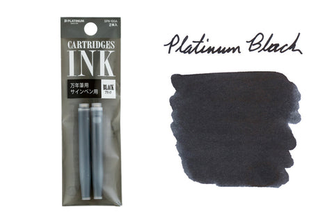 Platinum Black - Ink Cartridges (2-Pack)